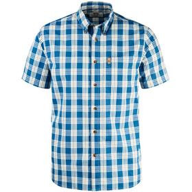Fjällräven Övik Button Down Shirt SS Men Lake Blue